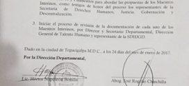 Juventud PRICPHMA: Primer triunfo de las protestas en la Dirección Departamental de Fco Morazan
