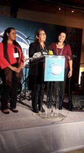 Joselyn Nineth Smith Evangelina y María Consuelo Equipo CGT Aguiriano