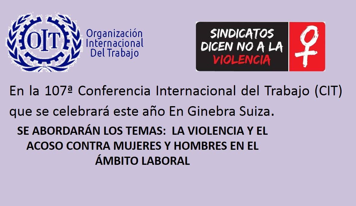 107ª Conferencia Internacional del Trabajo (CIT)