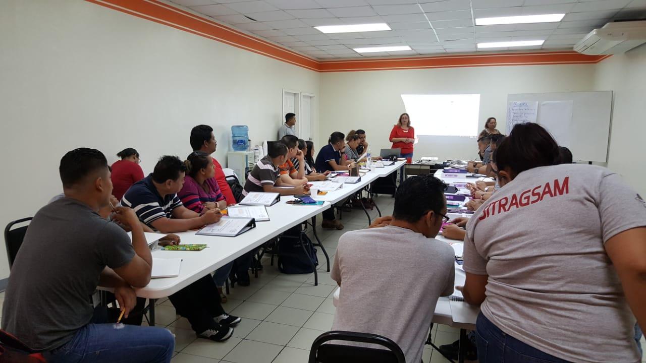 Fotos+ CGT inició el Proceso De Formación De Promotoras/es Legales proyecto CGT/NOVO