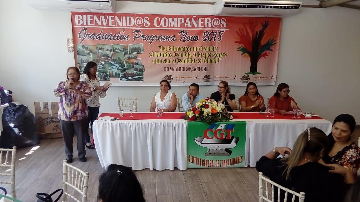 Graduación Novo 2018: Promotores/as Legales en Derechos Laborales y Humanos