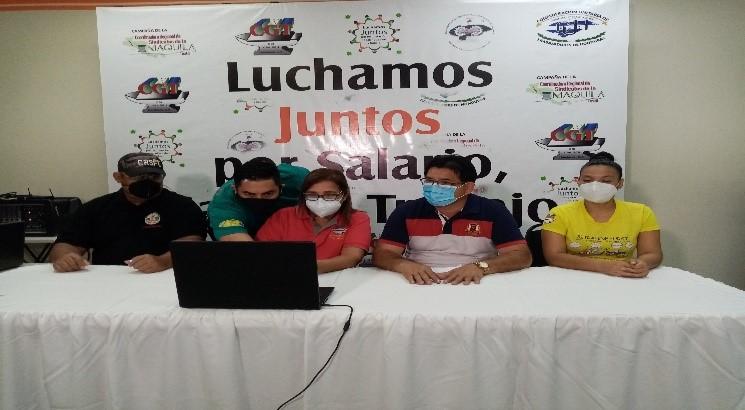 Exitoso lanzamiento de campaña a nivel de la Region Centroamericana de los Sindicatos de los paises Nicaragua, Guatemala, El Salvador y Honduras