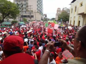 Marchas del 1 Mayo 2015, Día del Trabajador